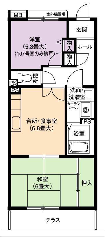 2DK(間取)