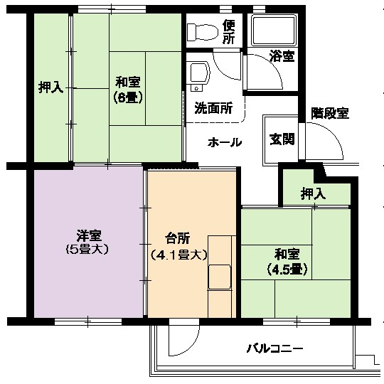 3DK(間取)
